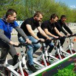 Автогонки на велотренажерах